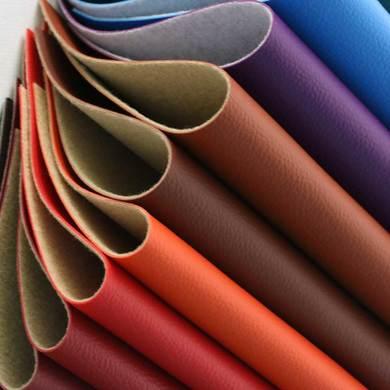 大量现货供应半PU 荔枝纹、适用于酒店工程、家居装饰、软包等