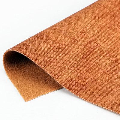精品面料A6006pu布纹针织拉毛1.3mm用于箱包手袋鞋革